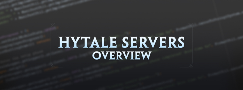 Hytale Servers Overview